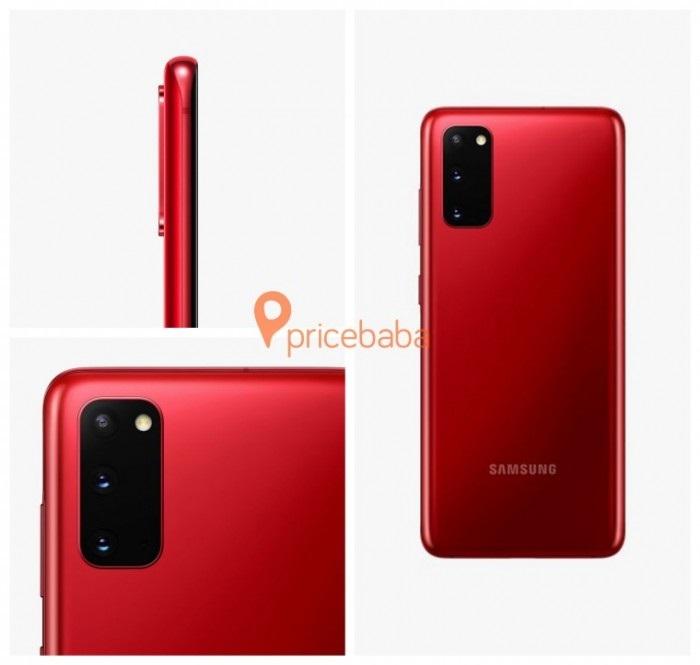 三星准备推出红色版本Galaxy S20/S20+智能手机,你心动了吗?